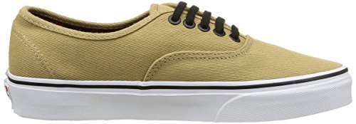 Vans Authentic, Sneakers Basses Mixte Adulte Beige (Twill & Gingham/Cornstalk/Black)