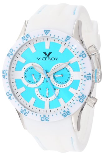 Viceroy Fun Colors Collection Unisex Multifunction Watch 432142-35 With Rubber Strap
