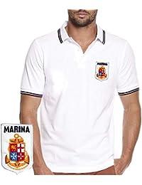moda classico grande varietà Amazon.it: marina militare - T-shirt, polo e camicie / Uomo ...