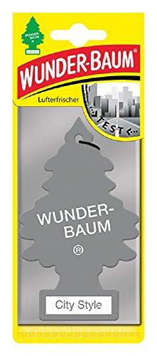 Wunderbaum WUNDER-BAUM MTR0077 Duft Lufterfrischer City Style Trees, 5 Stück