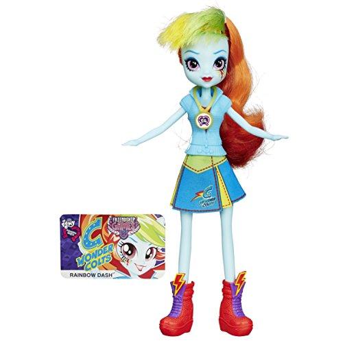 Mein kleines Pony - B1769 - Equestria Freundschaftsspiele für Mädchen School Spirit Doll - Rainbow Dash Figure