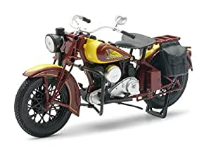 New Ray - 42117 - Moto Route Indian - Die Cast, 22 cm
