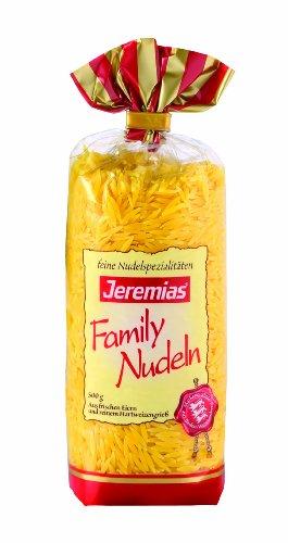 Jeremias Nudelreis, Family Frischei-Nudeln, 4er Pack (4 x 500 g Beutel)