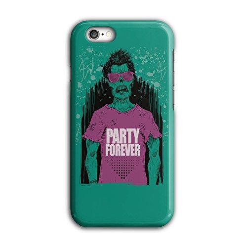 Wellcoda Party Für Immer Hülle für iPhone 6 / 6S Zombie Rutschfeste Hülle - Slim Fit, komfortabler Griff, Schutzhülle
