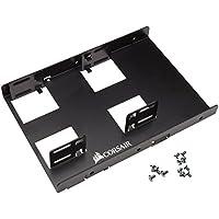 Corsair CSSD-BRKT2 - Tapa con Tornillos para Caja de Ordenador (154 x 108 x 28 mm), Negro