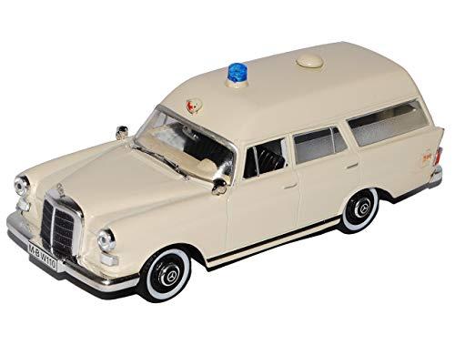 Gebraucht, Atlas Metall Modellauto 1:43 Krankenwagen Ambulanz gebraucht kaufen  Wird an jeden Ort in Deutschland