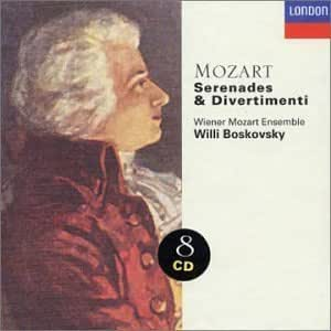 Mozart: Serenades & Divertimenti - Wiener Mozart Ensemble / Willi Boskovsky by Wea/London