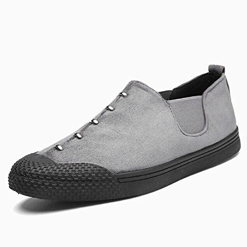 Uomo Moda Scarpe da diporto Ballerine Scarpe casual Scarpe pigri Leggero Confortevole Casa euro DIMENSIONE 39-44 gray