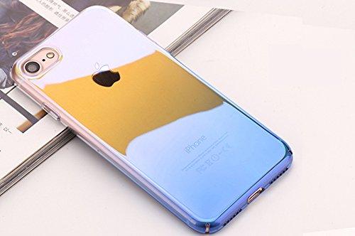 DBIT iPhone 6S Case, Sottile Blu-ray Cambio graduale PC di plastica Custodia protettiva Cover per Apple iPhone 6 / 6S,Blu Blu - Blu-ray PC