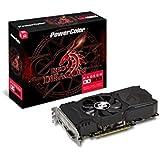 PowerColor AXRX 550 4GBD5-DHA AMD Radeon Red Dragon RX 550 Graphic Cards
