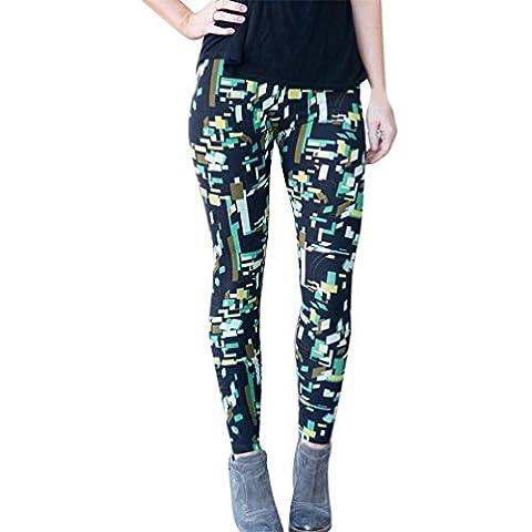1pièce Omiky® Skinny fin Legging, taille haute pour femme Pantalon