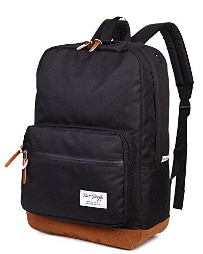 Imagen de hotstyle 915s vintage  colegio 24l  impermeable para portatil de 15 inch  negro