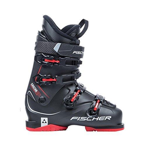 Skischuhe Fischer Cruzar X 8.5 Thermoshape Flex 85 Skistiefel Modell 2018 (MP31,0 EU48, schwarz/rot)