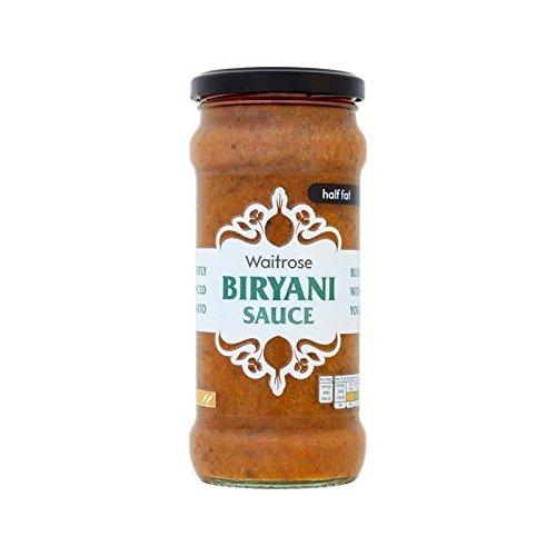 Moitié Biryani Graisse Sauce De Cuisson Waitrose 350G - Paquet de 6