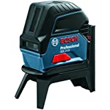 Bosch Professional Kreuzlinienlaser GCL 2-15 mit Halterung, 3x AA Batterien, Zieltafel, Schutztasche, Einlage für L-BOXX, Karton (Arbeitsbereich: 15m)