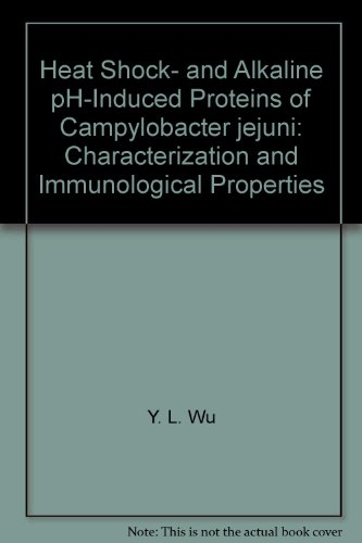 Heat Shock- and Alkaline pH-Induced Proteins of Campylobacter jejuni: Characterization and Immunological Properties par Y. L. Wu