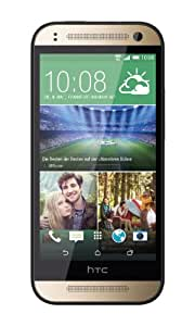HTC One mini 2 Smartphone (11,4 cm (4,5 Zoll) Touchscreen, 1,2GHz, Quad-Core-Prozessor, 1GB RAM, 13 Megapixel Kamera, 16GB interner Speicher, Nano-SIM, Android 4.4.2 KitKat) rose Gold