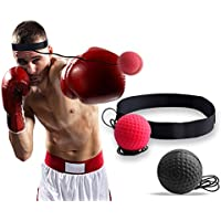Standie Boxing Reflex Ball Portable Boxing Training Ball with Headband for Adult/Children
