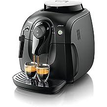 Philips XSmall HD8645/01 Macchina da Caffè Automatica, con Macine in Ceramica, Pannarello (caffè e Espresso Makers)