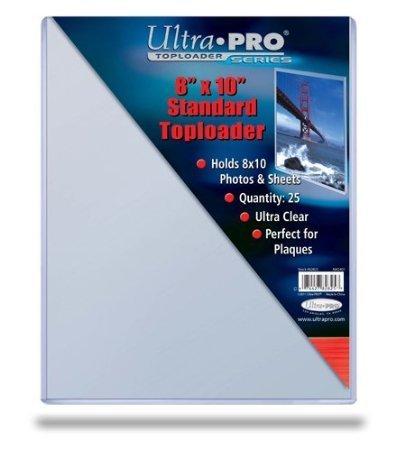 25 Ultra Pro 8 x 10 Toploader Top Loader - Photo Magazine Card Holder - Foto Karten Halter - 82825 - Top-loader