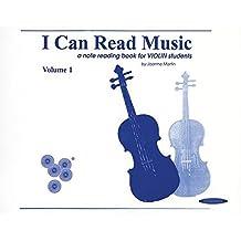 I Can Read Music, Vol 1: Violin (For Violin)