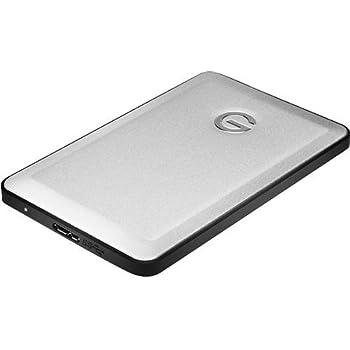 G-Technology G-DRIVE slim 500GB 500GB Aluminium Externe Festplatte - Externe Festplatten (500 GB, USB Type-A, 3.0 (3.1 Gen 1), 7200 RPM, USB, Aluminium)