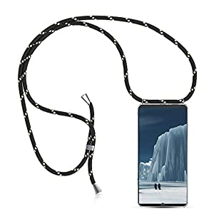 XCYYOO Handykette Handyhülle mit Band für Huawei Mate 20 Cover - Handy-Kette Handy Hülle mit Kordel zum Umhängen Handyanhänger Halsband Lanyard Case/Handy Band Halsband Necklace