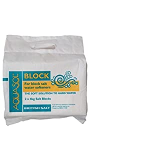Aquasol Block, The Soft Solution to Hard Water, 2 x 4kg