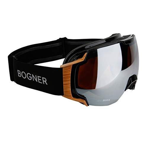 Bogner Snow Goggles Just B Bamboo   Schwarz   Ski & Snowboard Brille   Hochwertige Qualität