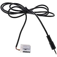 MagiDeal Cable Adaptador AUX para MP3 Teléfonos de Coche
