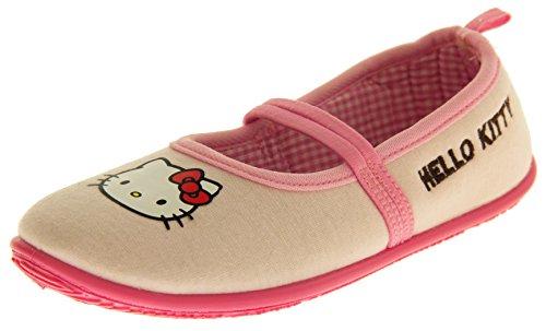 Hello Kitty Fragokit Bambina Rosa Cinturino Elastico Pantofole Scarpa Balletto EU 33