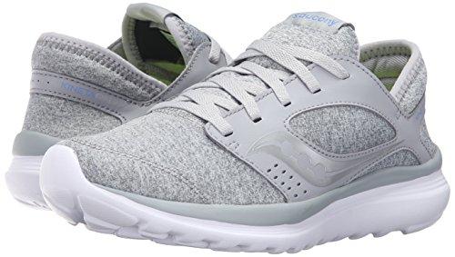 Saucony Women's Kineta Relay Road Running Shoe, Coral/Mint, 10 M US Grey/lavender