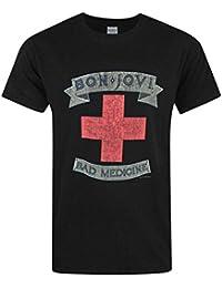 Official Bon Jovi Bad Medicine Men's T-Shirt