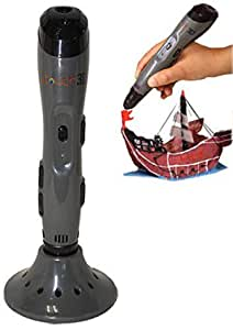 WOL 3D ITouch 3D Pen for 3D Drawing , Art and Crafts , Modeling, Professionals and Education. 2020 Model (Dark Grey)