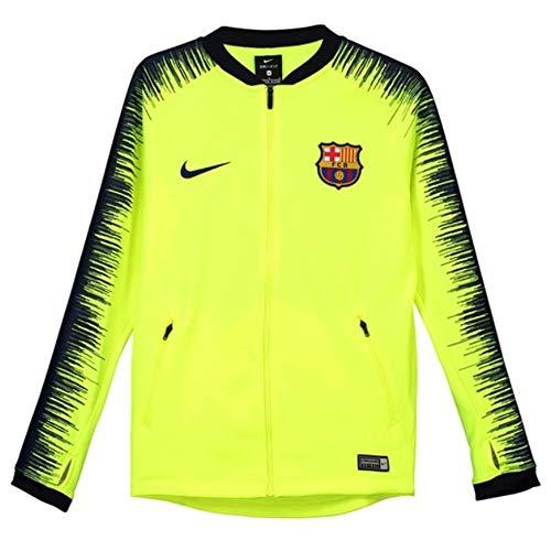 Nike FCB Y NK ANTHM FB JKT Jacke, Unisex Kinder, Mehrfarbig (Volt/Obsidian/Obsidian/DEEP ROYAL Blue) (Nike-youth-jacken Jungen)