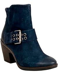 Miz Mooz Bubbles Women S High Heel Boot Blue 36 M EU