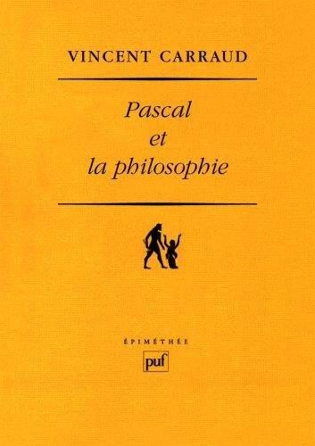 Pascal et la philosophie