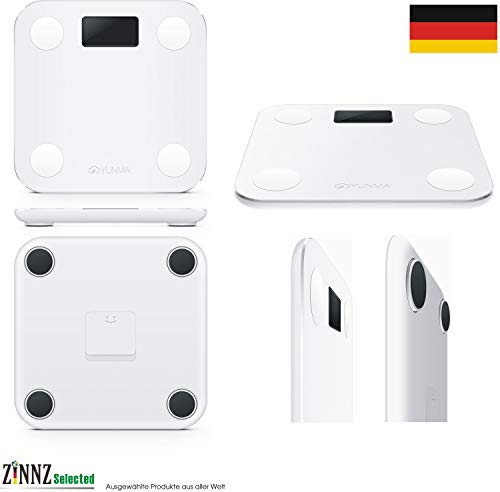 YUNMAI MINI Smart Personenwaage Körperfettwaage Körperanalysewaage smart Scale 3KG-180KG # ZINNZ SELECTED #