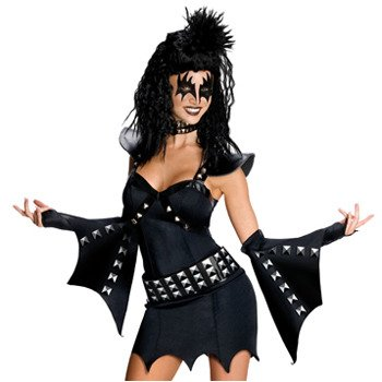 Halloween Kostüm Erwachsene KISS The Miss Demon Deluxe Gr.S 34-36 Rubies Art.Nr 3880725 (Kiss Kostüme Für Erwachsene)