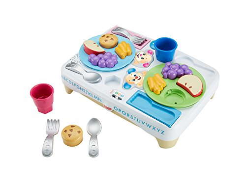 Fisher-Price FIS-DRF59-9993 DRF59 Laugh and Learn Say Please Snack Set