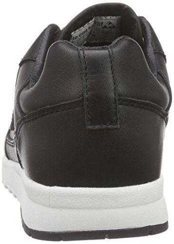 Le Coq Sportif Giverny Leather Low Damen Sneakers Schwarz
