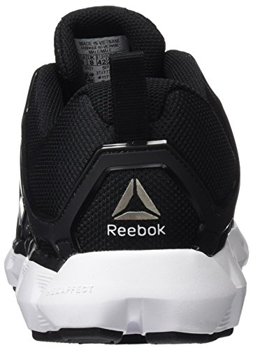 Reebok Hexaffect Run 5.0, Scarpe Running Uomo Nero (Black/white/pewter)