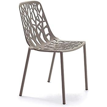 Amazonde Forest Fast Stapelbarer Stuhl Aus Aluminium Druckguss Art