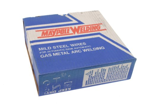 Mild-steel Welding Wire (Maypole 566A Schweißdraht, für MIG-Schweißen, aus Stahl, 0,8mm, 5kg)