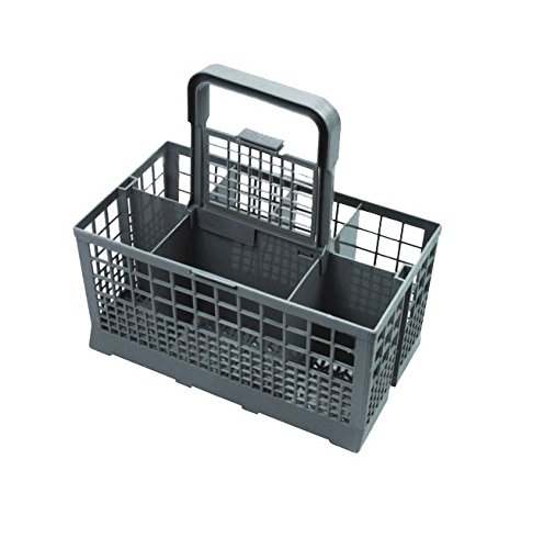 Invero® Universal Dishwasher Cutlery Basket ideal for Carrera Eurotech, Homark, Lendi, Powerpoint, Servis, White Westinghouse, Baumatic, Bosch, Neff, Siemens, Tecnik and many more Brands