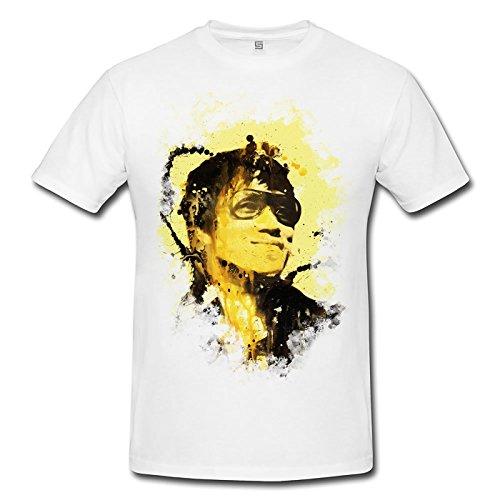 Bruce Lee II Premium Herren T-Shirt Motiv aus Paul Sinus Aquarell