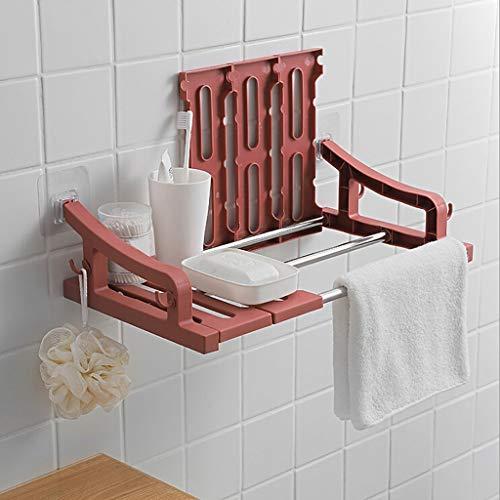 Lagerregal Für Badezimmer, CHshe Bad speicherhalter Schlag frei Kunststoff Wandmontage Bad Regal Halter für Küche Badezimmer