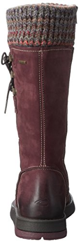Camel Active Ladies Balance Gtx 70 Long Boots Red (bordo 12)