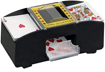Beimaji Trade Trade Trade Mélangeur de Cartes Automatique Jeu de société électronique 2 Deck Deck Sorter Cartes Shuffler Poker Cartes à Jouer Shuffler à Piles | De La Mode  cda1ff