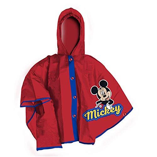 Mantellina topolino mickey mouse disney mantella impermeabile anti pioggia - d99400